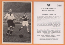 West Germany v Ireland Schanko Borussia Dortmund Gibbons St Patricks Athletic A104 (B)